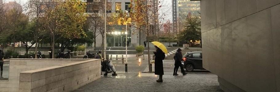 6 alternativas para sobrevivir  a la lluvia en Santiago