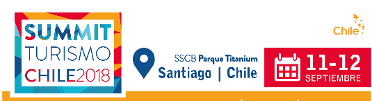 FEDETUR lanza Summit Turismo Chile 2018